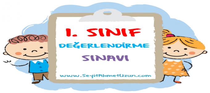 1. SINIF MATEMATİK DEĞERLENDİRME SINAVI 2