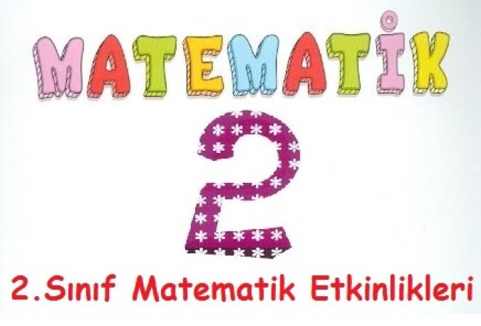 2 Sinif Matematik Etkinlikleri Seyit Ahmet Uzun Egitime Yeni
