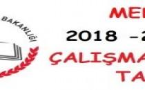 2018-2019 MEB İŞ GÜNÜ TAKVİMİ