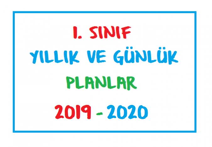 1 Sinif Gunluk Ve Yillik Planlar 2019 2020 Seyit Ahmet Uzun