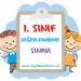 1. SINIF TÜRKÇE DEĞERLENDİRME SINAVI 9