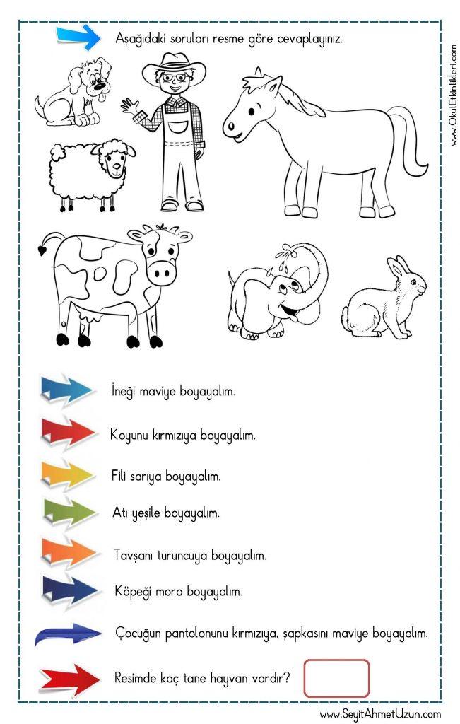 Okudugunu Anlama Oku Boya Calismasi 1 Seyit Ahmet Uzun